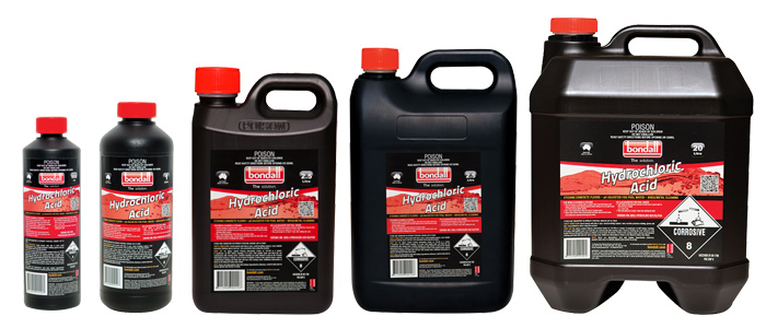 Concrete Stain Remover >> Hydrochloric Acid - Acid Solutions by Bondall